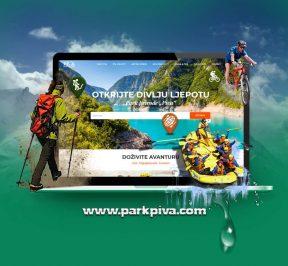 Park Prirode Piva: Nova oficijalna internet prezentacija